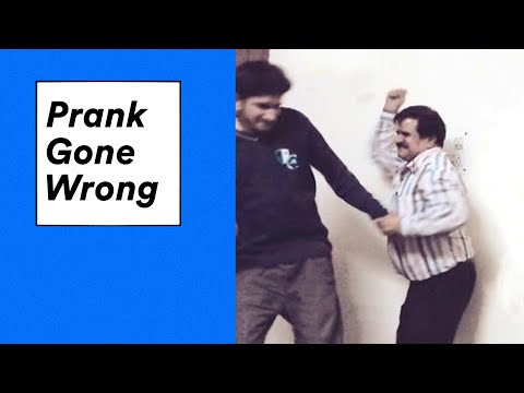 Pranking My Angry Dad Gone Wrong video