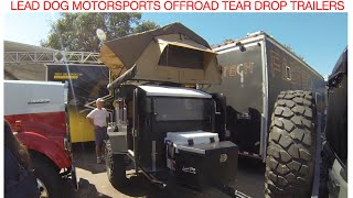 affordable offroad teardrop trailer :Offroad Expo 2015