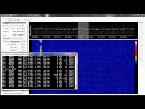 Decoding P25 with SDR#, DSD, and RTLSDR