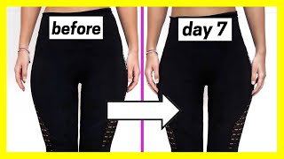 How to SLIM DOWN your LEGS in ONE WEEK *fast results*