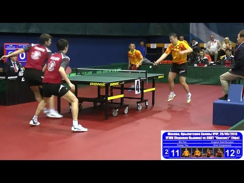 Ma LIN, Ruiwu TAN vs BAYBULDIN, KUPRIYANOV 1/8 Russian Premier League Playoff