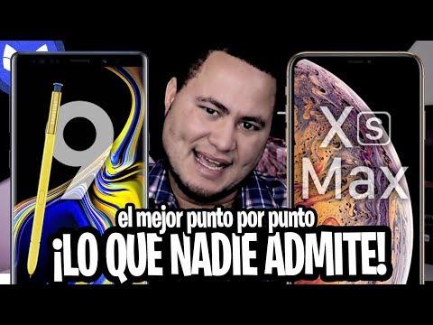 EL NOTE 9 ES MEJOR QUE EL iPhone XS MAX