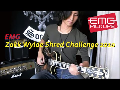 EMG Zakk Wylde Shred Challenge 2010 :by Gaku