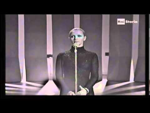 Patty Pravo - Love story (Francis Lai Sergio Bardotti) - Teatro 10 - Alberto Lupo