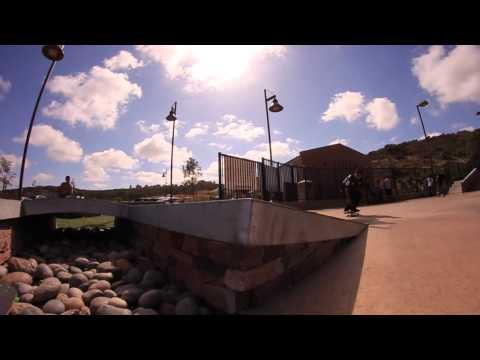 Nyjah Huston and friends Carlsbad Skatepark