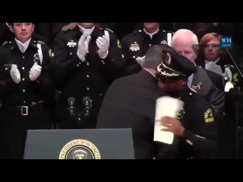 Dallas Police Chief David Brown Speech At Dallas Memorial Service 7/12/16 Full Speech