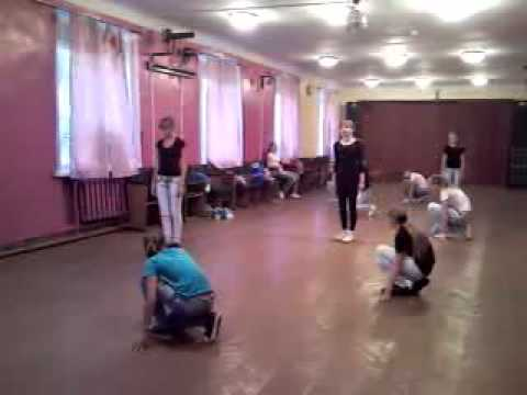 Наша репетиция танца на дискотеку=)