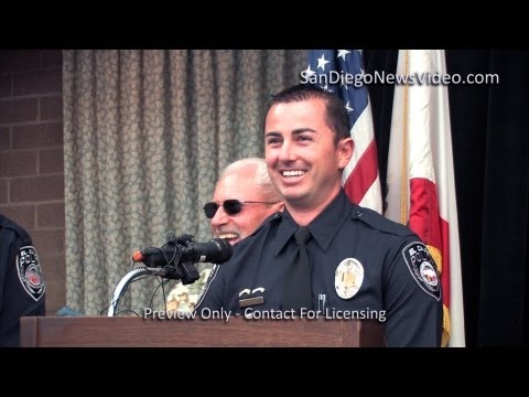 Officers Jared Slocum, Tim McFarland Speak About Shootout, El Cajon