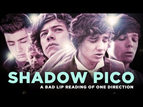 """SHADOW PICO trailer"" ? A Bad Lip Reading of One Direction"