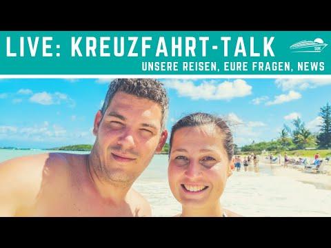 [LIVE] Kreuzfahrt-Talk: Eure Fragen, Unsere Reisen/Termine, News