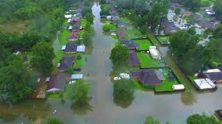 Another video of the neighborhood in Vidor Texas. Tropical Depression Harvey