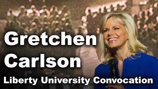 Gretchen Carlson Liberty University Convocation