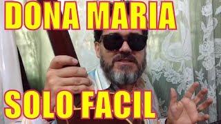 download musica DONA MARIA SOLO SIMPLIFICADO FINGERSTYLE TAB COMO TOCAR INICIANTES - AULA DE VIOLAO