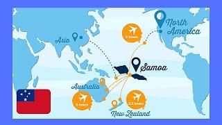 SAMOA, a tour of its beautiful capital APIA