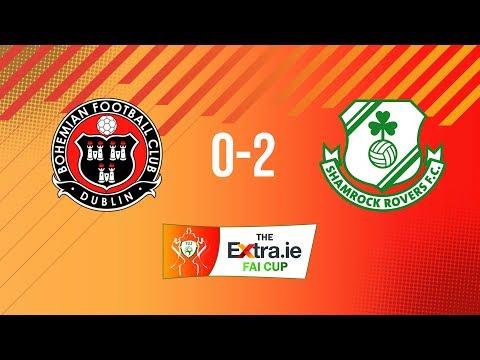 Extra.ie FAI Cup Semi Final: Bohemians 0-2 Shamrock Rovers