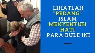 Islam Disebarkan Dengan P3dang? 💥 Lihatlah Bagaimana Islam Menyentuh Hati Para Bule di Eropa Ini