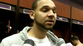 Jared Dudley Postgame: Suns vs. Nuggets (Dec. 22, 2011)