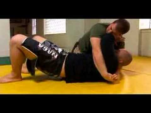 MMA Arm Bars & Submission Techniques : Arm Bar From Bottom Side in MMA Image 1