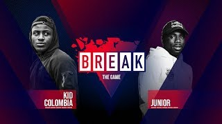 B-Boy Kid Colombia vs. B-Boy Junior | BREAK THE GAME