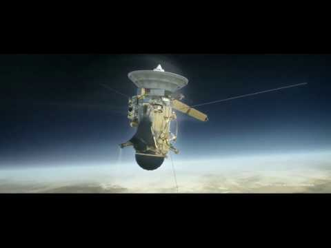 Stunning Video Depicts Cassini Spacecrafts Dramatic End