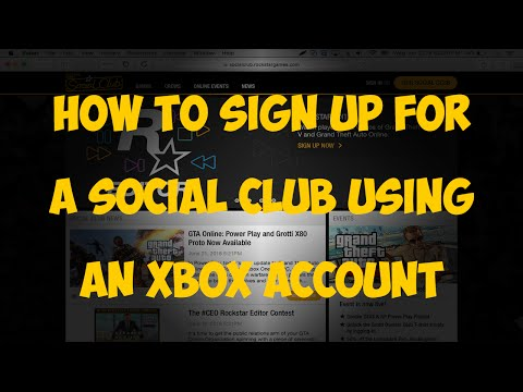 How to sign up for a Social Club account using an Xbox account