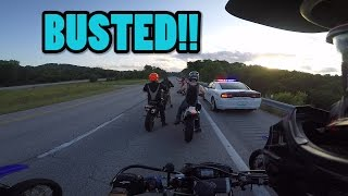 branson: Stunts, cops, and a lot of motards