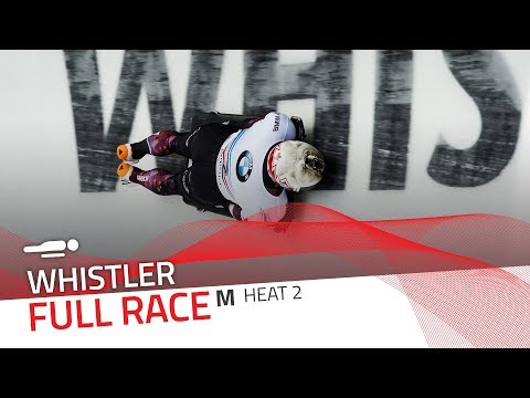 Whistler | BMW IBSF World Cup 2017/2018 - Men's Skeleton Heat 2 | IBSF Official