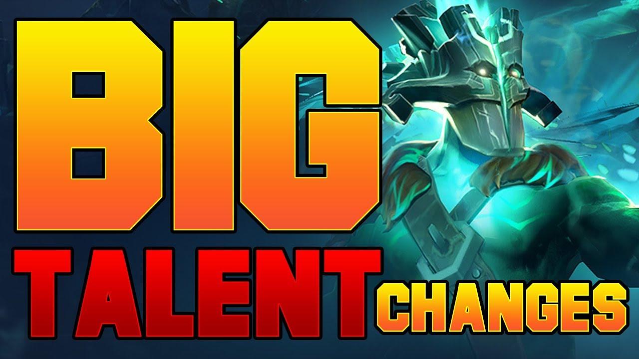 Dota 2 Big New Talent Changes - Patch 7.07