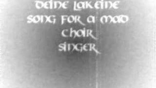 Watch Deine Lakaien Song For A Mad Choir Singer video