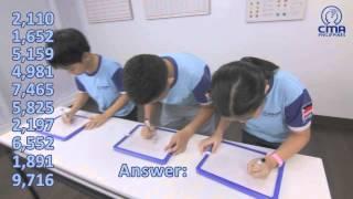 CMA Philippines Students - Amazing Mental Arithmetic Skill