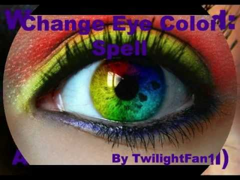 Change Eye Color Spell