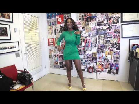 Kenya Moore Teaches You The Beyonce single Ladies Dance video