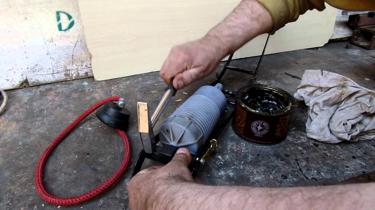 Насос автомобильный ножной ремонт
