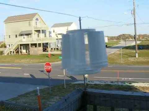 5 Gallon Bucket Vertical Axis Wind Turbine Youtube