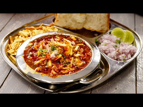 Full Misal Pav with Homemade Masala Recipes - Maharashtrian Street Food  - CookingShooking