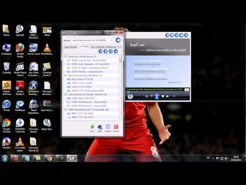 SopCast شرح طريقة تشغيل برنامج