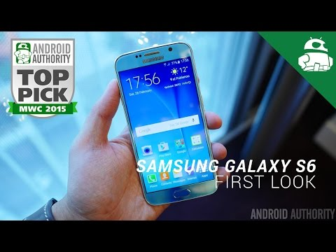 Samsung Galaxy S6 First Look!