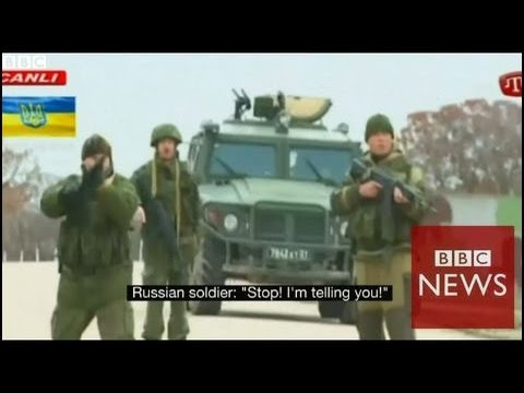 Crimea stand off; what was said? BBC News
