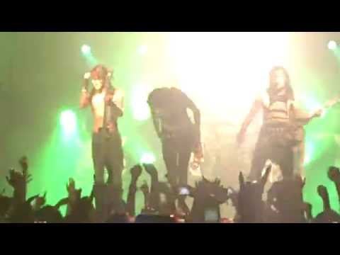 Black Veil Brides in The End (live In Helsinki 26.11.2013) video