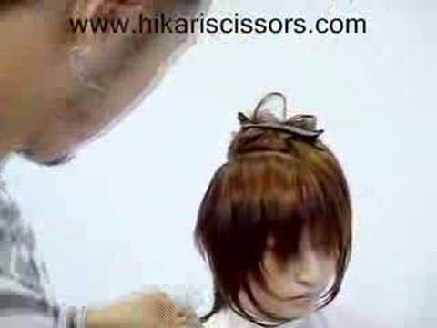 Hikari DryCutting Demonstration - Long Hair (Part One)