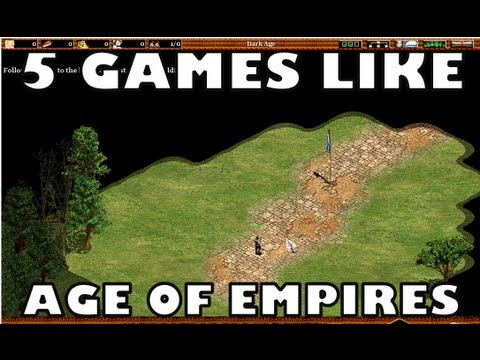 Games Like Age of Empires (AoE) - Best RTS Games