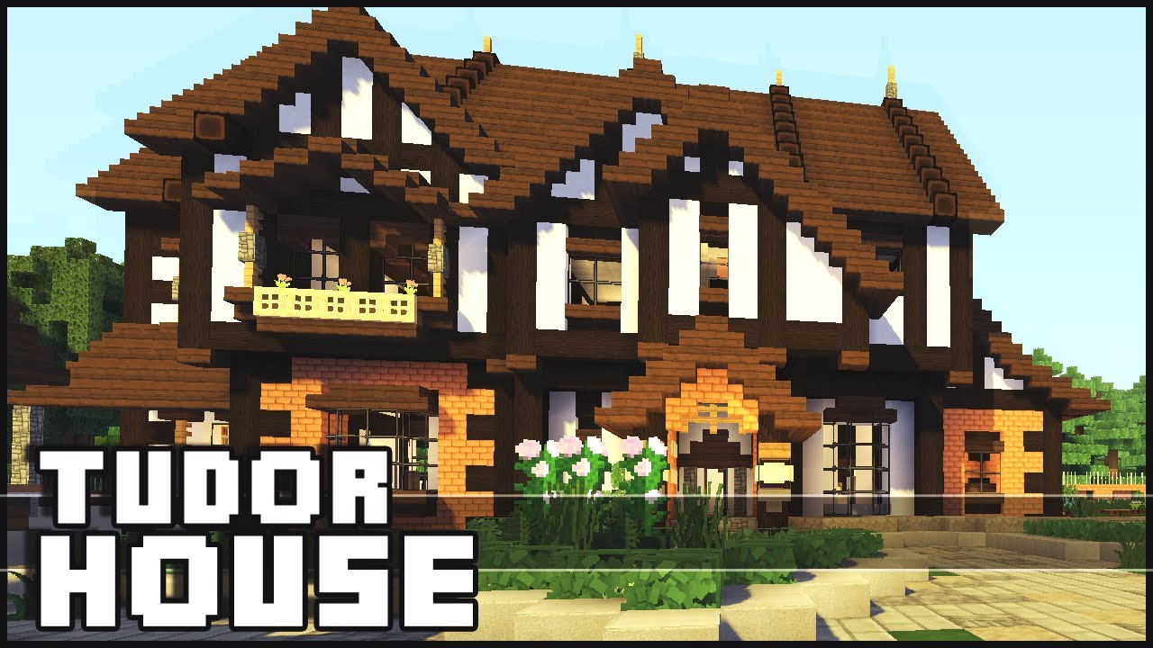 Minecraft tudor house youtube for How to style your house
