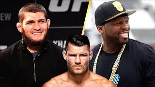 Michael Bisping Reacts To 50 Cent Offering Khabib Nurmagomedov 2 Million To Join Bellator