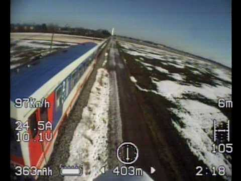 Born for FPV. Insane FPV RC Plane Flight Through Shed. Train and Car Chase. Almost Crash Stall