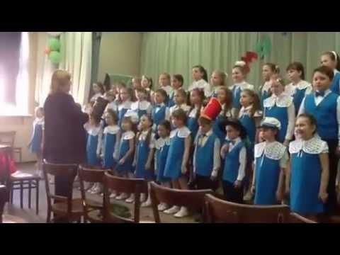 Немецкая детская песенка Grun - grun в исполнении детского хора.