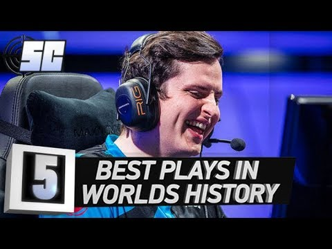 5 Best Plays in Worlds History | LoL eSports