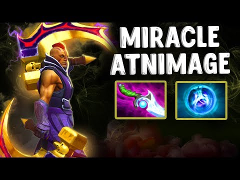 МИРАКЛ НА АНТИМАГЕ БЕРЕТ ДИФУЗА - MIRACLE DIFFUSAL BLADE ANTIMAGE DOTA 2