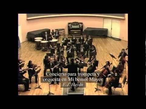 Concierto para trompeta y orquesta en Mi bemol Mayor - F. J. Haydn (completo)