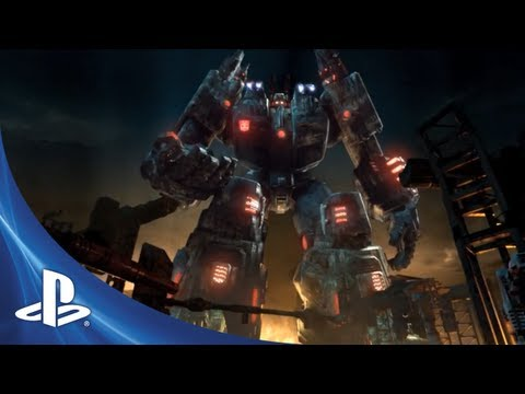 Transformers: Fall of Cybertron for PS3 - E3 2012 Trailer