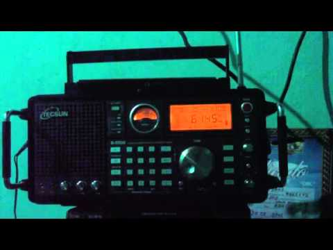 6145 kHz ALL India Radio , In Urdu Language , Aligarh , Uttar Pradesh , India